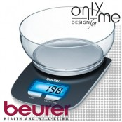 Електронна кухненска везна с купа BEURER - до 3 кг