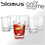 Комплект 6 броя стъклени чаши BLEND BLOMUS