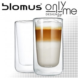 Комплект двустенни стъклени чаши за лате NERO BLOMUS 63655 - 320 ml