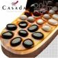 Масажни чехли за рефлексотерапия с естествени камъни CASADA №39-41 CS-309