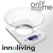 Електронна кухненска везна с купа INNOLIVING - до 5 кг