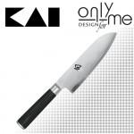 Нож за лява ръка Santoku Shun KAI - 18см