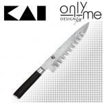 Универсален кухненски нож със шлици Shun KAI - 20см