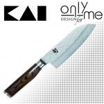 Универсален кухненски нож Santoku Shun Premier KAI - 14см