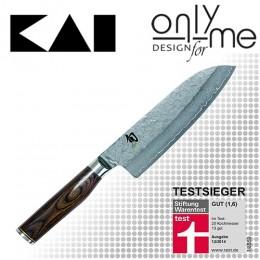Универсален кухненски нож Santoku Shun Premier KAI TDM-1702