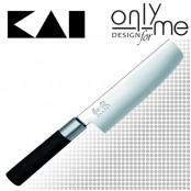 Кухненски нож Nakiri WASABI KAI - 16,5см