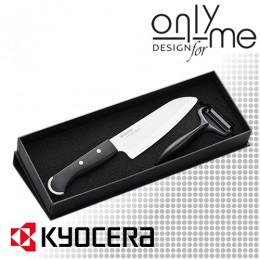 Комплект керамичен нож с белачка KYOCERA KP - 150-WH + CP-10-NBK