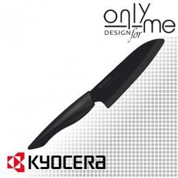 Керамичен нож Сантоку SHIN SANDGARDEN KYOCERA ZK-140 BK-BK - 14 cm