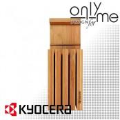 Бамбуков блок за ножове KYOCERA