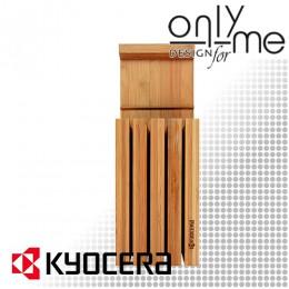 Бамбуков блок за ножове KYOCERA BA1