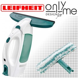 Електрическа вакуум стъклочистачка с микрофибърна кърпа с накрайник LEIFHEIT 51002