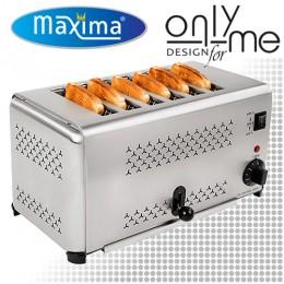 Тостер със 6 гнезда за 6 филийки за блок маса / бюфет Maxima MT-6 09300050