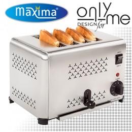 Тостер с 4 гнезда за 4 филийки за блок маса / бюфет Maxima MT-4 09300045