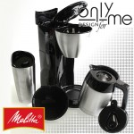 Шварц кафе машинa с 2 кани INOX SINGLE 5 Melitta