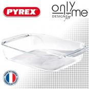 Тава от боросиликатно стъкло OPTIMUM PYREX - 1,4 L