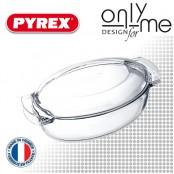 Тенджера овал от боросиликатно стъкло PYREX - 5,5 L