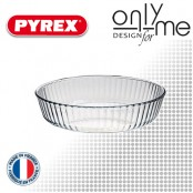 Оребрена кръгла тава за печене на сладкиши Bake&Enjoy PYREX - 2,1 L