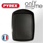 Плитка универсална тава от въглеродна стомана PYREX - 33х25 cm