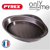 Тава за печене на риба от въглеродна стомана PYREX - 35х23cm