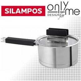 Съд за сос с капак Silampos Rainbow Satin Black 63D124 - DC1120 - 100 - Ø20 см.