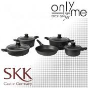 Комплект съдове за готвене SKK - 9 части