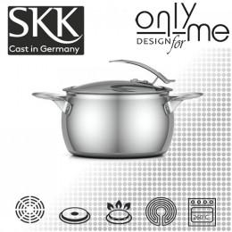 Тенджера SKK Inox Serie 1 97218 - Ø 18см 3л