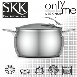 Тенджера SKK Inox Serie 1 - Ø 24см 6,5л