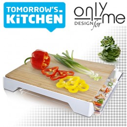 Бамбукова дъска с контейнер Tomorrow's Kitchen TK-4685260