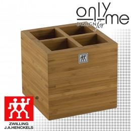 Бамбуков блок за кухненски аксесоари ZWILLING TWIN PURE BLACK ZW-37880-101-0