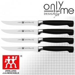 Комплект 4 броя ножа за стек ZWILLING VIER STERNE ZW-39190-000-0