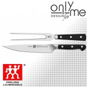 Комплект кухненски нож и вилица за месо ZWILLING PRO