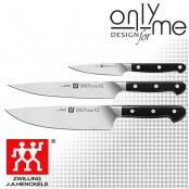 Комплект кухненски ножове 3 броя ZWILLING PRO