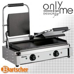 Контактен грил - притискателна скара - сандвич тостер с гладки плочи Bartscher A150672