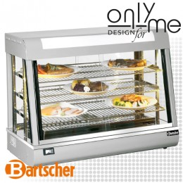 Топла витрина с овлажнител и осветление за печива Deli II