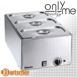 Отоплител / Бен Мари 3 GN 1/3 с капак за поддържане на топла храна