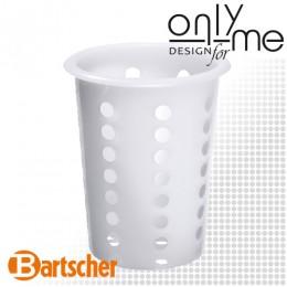 Кошница / цилиндър за прибори за хранене от полиетилен