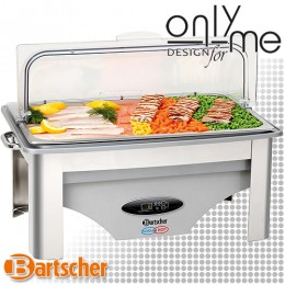 Електрически Chafing Dish GN 1/1 - 65 mm с функция за подгряване и охлаждане Bartscher 500850