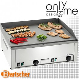 Електрическа скара гладка плоча за готвене - 6 kW, CNS 18/10 INOX Bartscher A370032