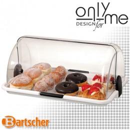 Голям бюфетен дисплей Bartscher  - поднос с ролтоп капак