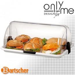Малък бюфетен дисплей Bartscher - поднос с ролтоп капак