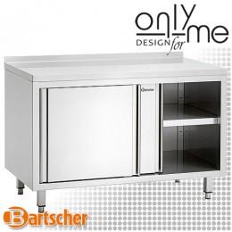 Шкаф с плъзгащи врати и среден рафт Bartscher 338167