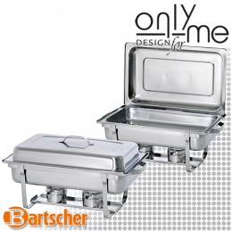 2 броя Chafing Dish GN 1/1 - 65 mm Bartscher Twin Pack 500486