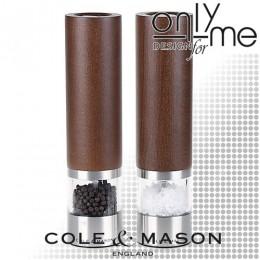 Комплект електрически мелници за сол и пипер Cole & Mason