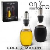 Комплект за олио и оцет Cole & Mason с дозатор