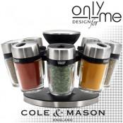 Комплект за подправки Cole & Mason HERB & SPICE 8