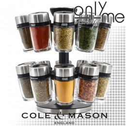 Комплект за подправки Cole & Mason HERB & SPICE 20