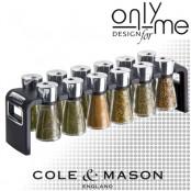 Комплект за подправки Cole & Mason SHAW 12